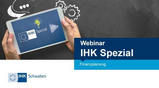 Steuerberater Augsburg IHK Spezial Finanzplanung